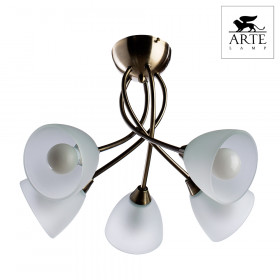 Светильник потолочный Arte Nikki A2576PL-5AB
