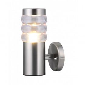 Уличный настенный светильник Arte Portico A8381AL-1SS