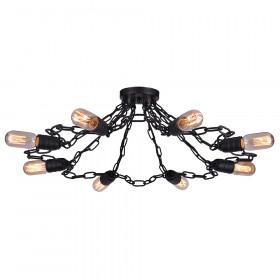 Светильник потолочный Arte Riverrun A9344PL-8BK