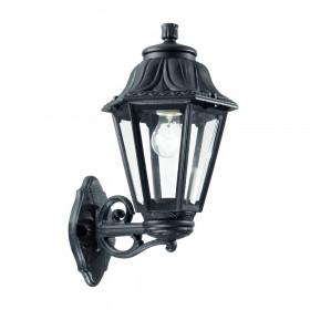 Уличный настенный светильник Ideal Lux Anna AP1 BIG NERO