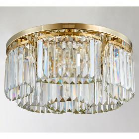 Светильник потолочный Newport 4350 4355/PL gold