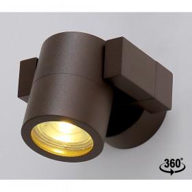 Уличный настенный светильник Crystal Lux CLT 020CW BR
