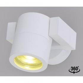 Уличный настенный светильник Crystal Lux CLT 020CW WH