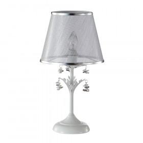 Лампа настольная Crystal Lux CRISTINA LG1 WHITE