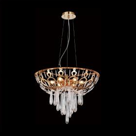 Люстра Crystal Lux DOROTEA SP5 D450 GOLD
