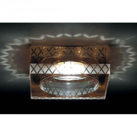 Светильник точечный Donolux DL145CH/Brown