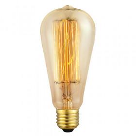 Декоративная лампа накаливания Eglo Vintage E27 60Вт 220V 49502