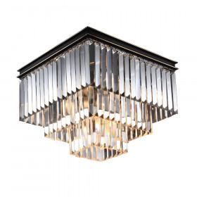 Светильник потолочный Newport 31100 31105/PL black+gold