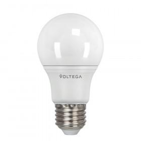 Светодиодная лампа общего назначения Voltega 220V E27 8W (соответствует 75 Вт) 806Lm 4000K (белый) 5736