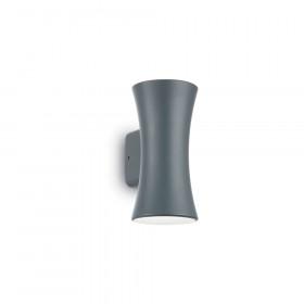 Уличный настенный светильник Ideal Lux Lab AP2 ANTRACITE