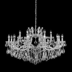 Люстра Crystal Lux HOLLYWOOD SP12+6 CHROME