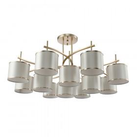 Светильник потолочный Crystal Lux SERGIO PL8+4 GOLD