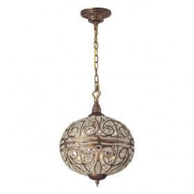 Люстра N-Light 5962/4+4 Spanish Bronze