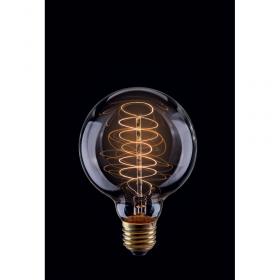 Лампа винтажная шар Voltega 220V G80 E27 40W 150Lm 2800К (теплый белый) 5924