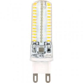 Светодиодная лампа Ecola  G9  5Вт(соответствует 40Вт)  2800K(теплый белый)  G9RW50ELC