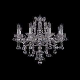 Люстра Bohemia Ivele Crystal 1415/8/200/Ni/Balls