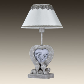 Лампа настольная Maytoni Bouquet ARM023-11-S
