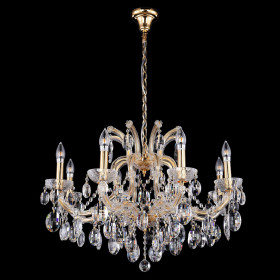 Люстра Crystal Lux HOLLYWOOD SP8 GOLD