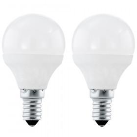 Светодиодная лампа Eglo P45 E14 4W (соответствует 40W) 320Lm 4000K (белый) 10776