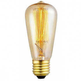 Декоративная лампа накаливания Eglo Vintage E27 60Вт 220V 49501