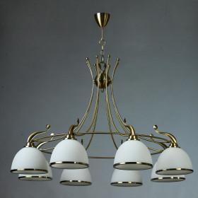 Люстра Brizzi MA02401CA/008 Bronze