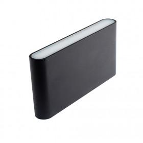Уличный настенный светильник Donolux DL18400/21WW-Black M Dim