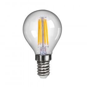 Светодиодная лампа шар Voltega 220V E14 6W (соответствует 60 Вт) 600Lm 4000K (белый) 7022