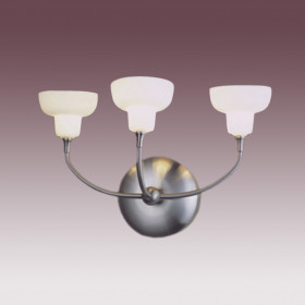 Бра N-Light BX-0325/3 Satin Chrome
