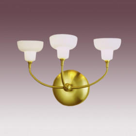 Бра N-Light BX-0325/3 Satin Gold