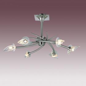 Светильник потолочный N-Light PX-0653/6A Satin Chrome
