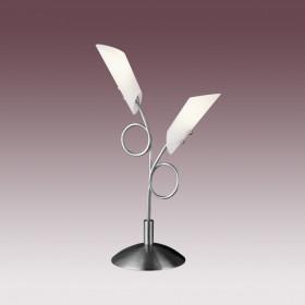 Лампа настольная N-Light TX-0032/2B Satin Chrome