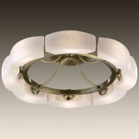 Светильник потолочный Odeon Light Barca 1713/8C