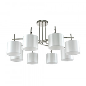 Светильник потолочный Crystal Lux SERGIO PL8 NICKEL