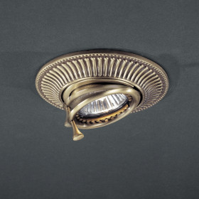 Светильник точечный Reccagni Angelo SPOT 1082 BRONZO