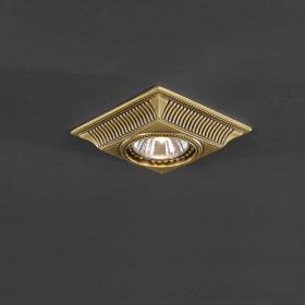 Светильник точечный Reccagni Angelo SPOT 1084 BRONZO