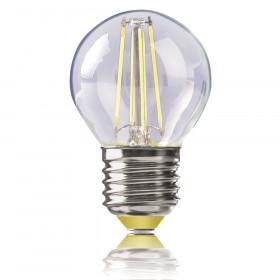 Светодиодная лампа шар Voltega 220V E27 4W (соответствует 40 Вт) 400Lm 2800K (теплый белый) 4680