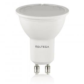 Светодиодная лампа софит Voltega 220V GU10 6W (соответствует 50 Вт) 455Lm 4000K (белый) 4707