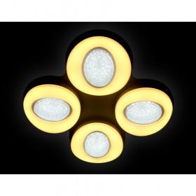 Светильник потолочный Ambrella Orbital Crystal Sand FS1584/4 208W D585*585