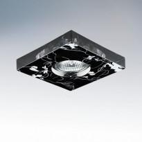 Светильник точечный Lightstar Lei Adesivo Nero 006927
