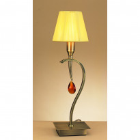 Лампа настольная Mantra Viena Pantalla Cuero 0359