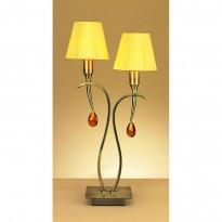 Лампа настольная Mantra Viena Pantalla Cuero 0360