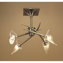 Светильник потолочный Mantra Flavia Cuero 0366