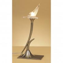 Лампа настольная Mantra Flavia Cuero 0370