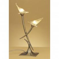 Лампа настольная Mantra Flavia Cuero 0371