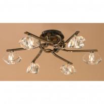 Светильник потолочный Mantra Alfa Cuero 0555