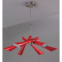 Светильник (Люстра) Mantra Pop Rojo 0910
