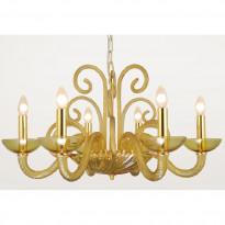 Светильник (Люстра) Crystal Lux AELITA SP6 GOLD