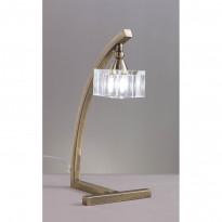 Лампа настольная Mantra Cuadrax Cuero Optico 1104
