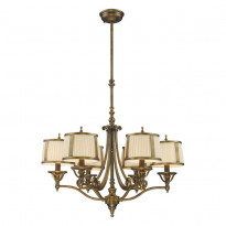 Светильник (Люстра) N-Light 11058/6 Vintage Brass