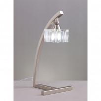 Лампа настольная Mantra Cuadrax Sn Optico 1114